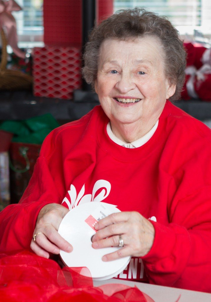 Photo - Presents for Patients Woman Smiling