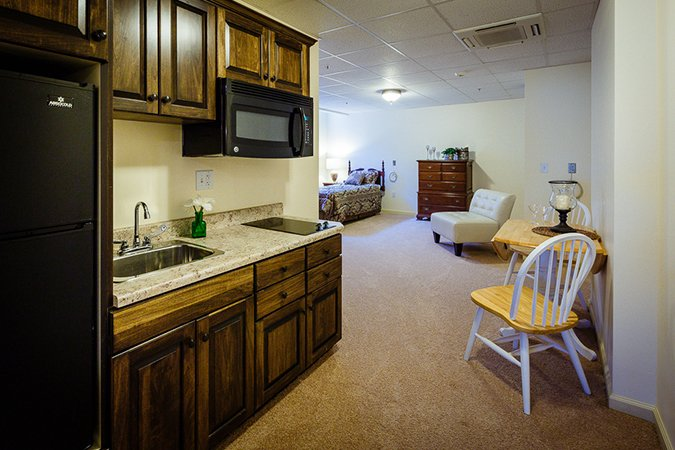 Assisted Living apartment interior
