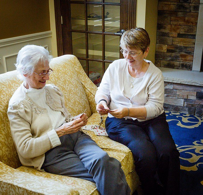 Alzheimer's and Dementia Care Volunteer with patient