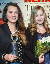 Gabby Barrett and Jackie Evancho