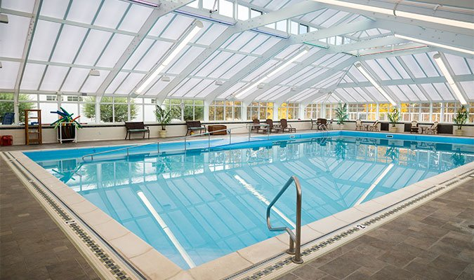 St. Barnabas Crystal Conservatories Pool