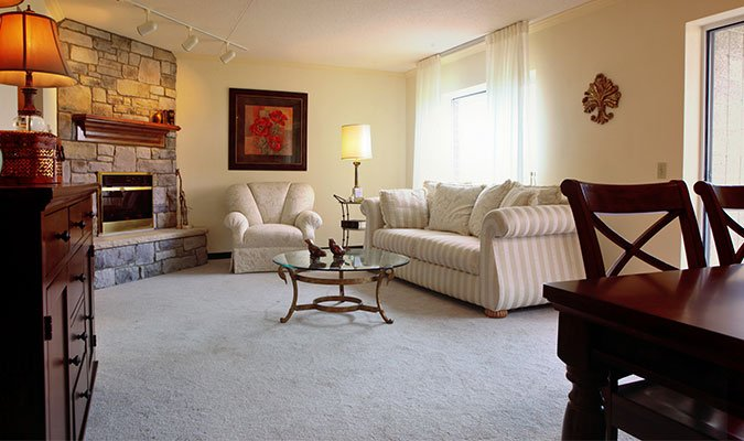 The Village Apartment Interior at St. Barnabas