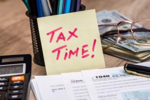St. Barnabas Health System tax day blog.