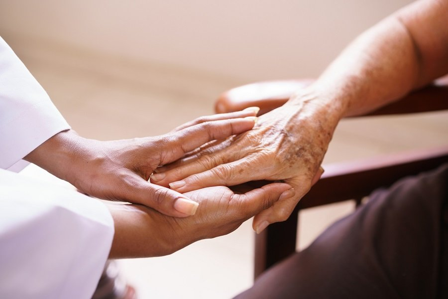 St. Barnabas Health System blog about caregiver stress.