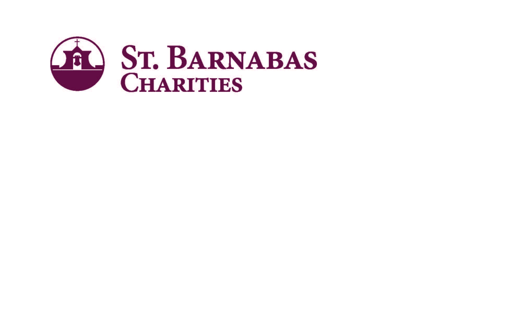 St. Barnabas Charities Logo - two lines