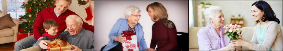 St. Barnabas Charities Presents for Patients Page Header
