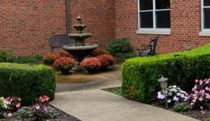 Clinical-Arbors-Wasington Place Courtyard