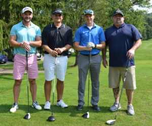 St. Barnabas Fall Golf Outing 2018 - Winning Foursome