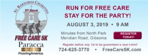 Free Care 5K Run Walk