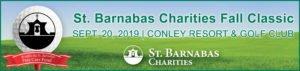 St. Barnabas Charities Fall Classic Golf Open 2019 - Header