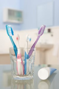 Photo - Toothbrushes and toothpaste