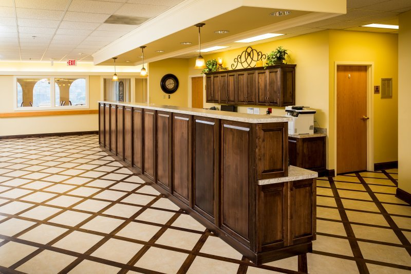 Common Area At St. Barnabas Nursing Home