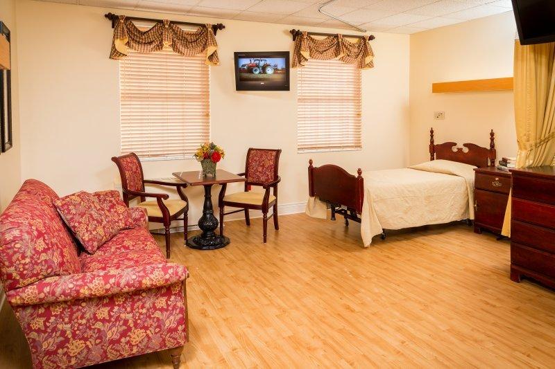 Nursing Home Room At St. Barnabas