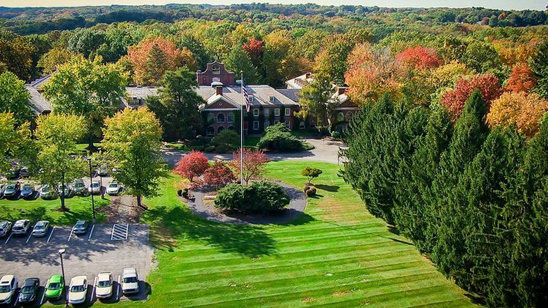 Aerial View Of St. Barnabas