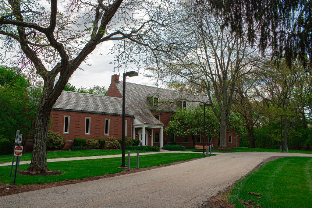 Brick building on St. Barnabas campus