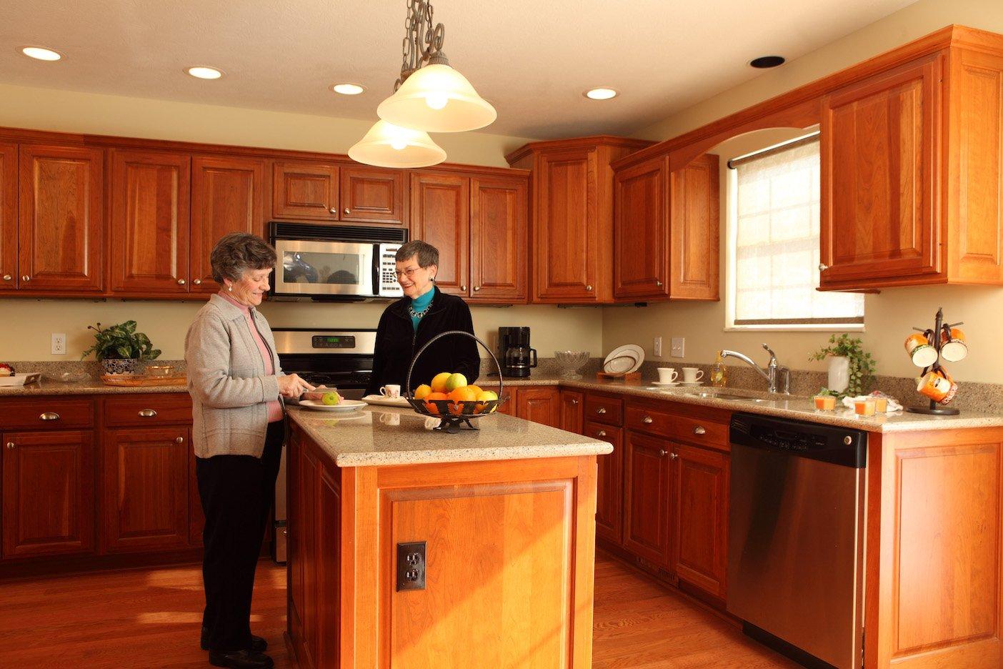 Woodlands - kitchen ladies